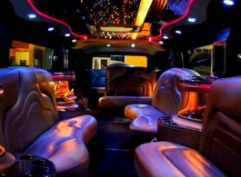 16 seat Hummer Limousine for wedding hire in London